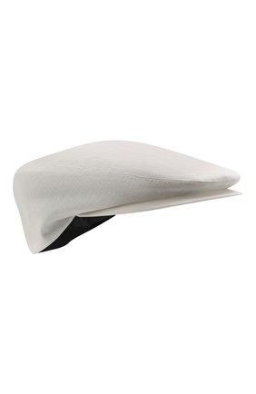 Мужская льняное кепи DOLCE & GABBANA белого цвета, арт. GH587Z/FU4IK | Фото 1