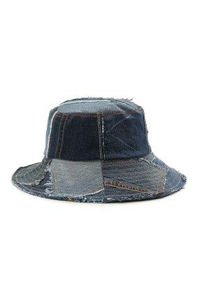 Мужская джинсовая панама DOLCE & GABBANA синего цвета, арт. GH699Z/GER09 | Фото 2