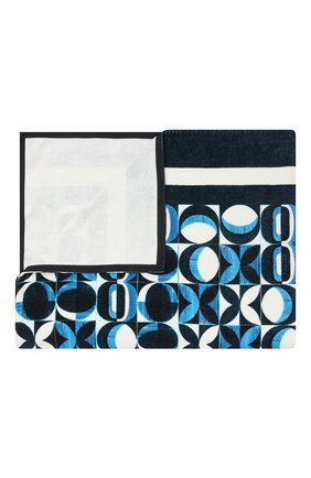 Мужские хлопковое полотенце DOLCE & GABBANA синего цвета, арт. M0A03T/HI7GM | Фото 1