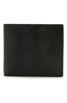 Мужской кожаное портмоне  BOTTEGA VENETA черного цвета, арт. 605722/V0SQ1 | Фото 1