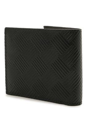 Мужской кожаное портмоне  BOTTEGA VENETA черного цвета, арт. 605722/V0SQ1 | Фото 2