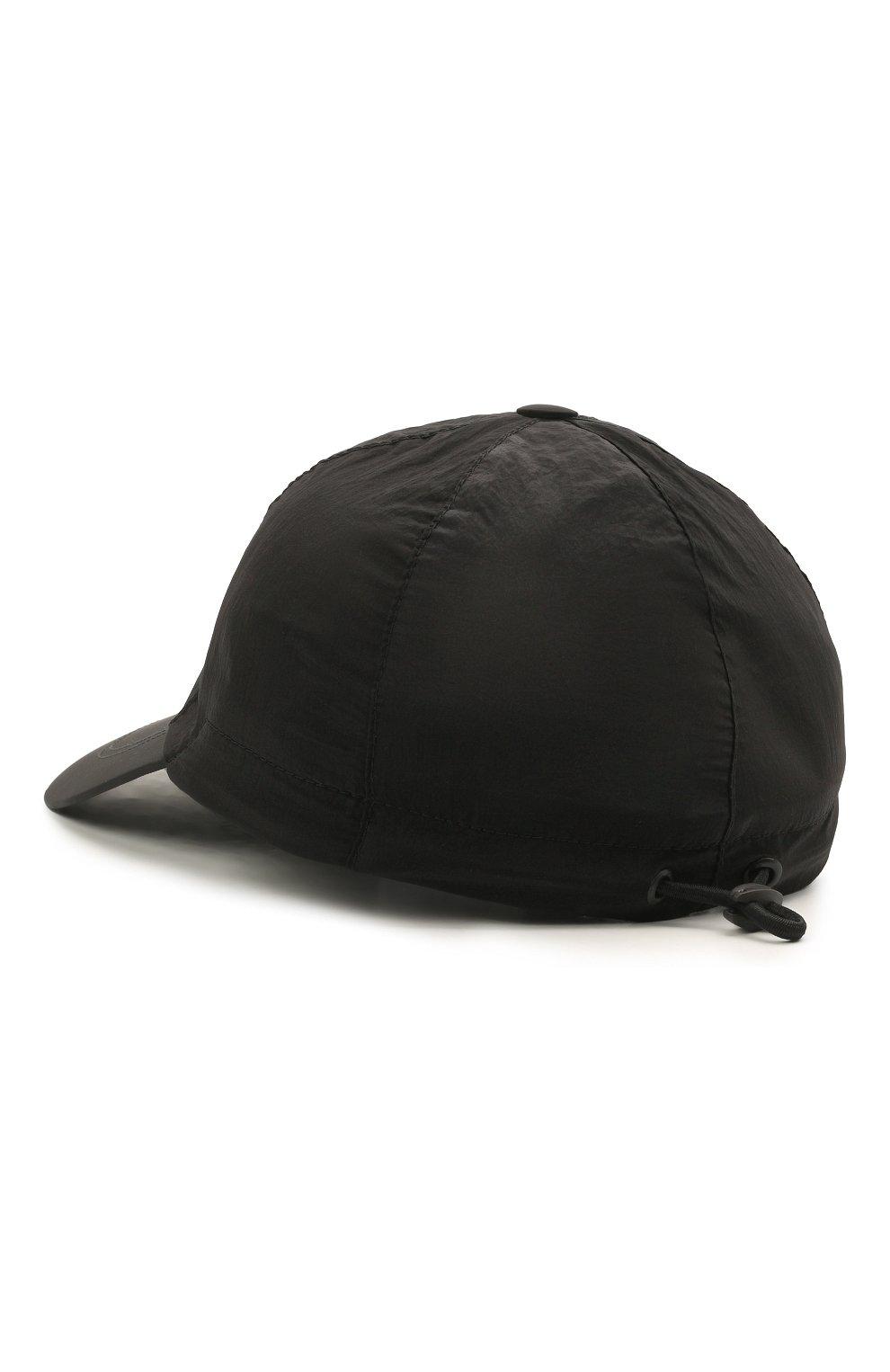 Мужской бейсболка STONE ISLAND черного цвета, арт. 741599576 | Фото 2