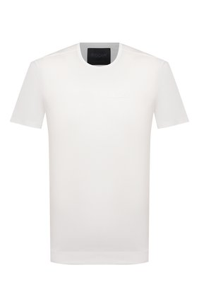 Мужская хлопковая футболка LIMITATO белого цвета, арт. CALL ME/T-SHIRT | Фото 1