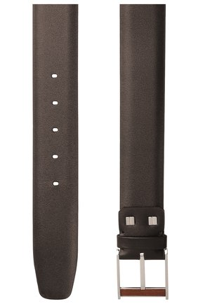 Мужской кожаный ремень ZILLI коричневого цвета, арт. MJL-CLAQE-01030/0057 | Фото 2