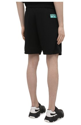 Мужские шорты PHARMACY INDUSTRY черного цвета, арт. PHM230   Фото 4