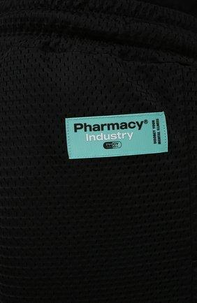 Мужские шорты PHARMACY INDUSTRY черного цвета, арт. PHM230   Фото 5