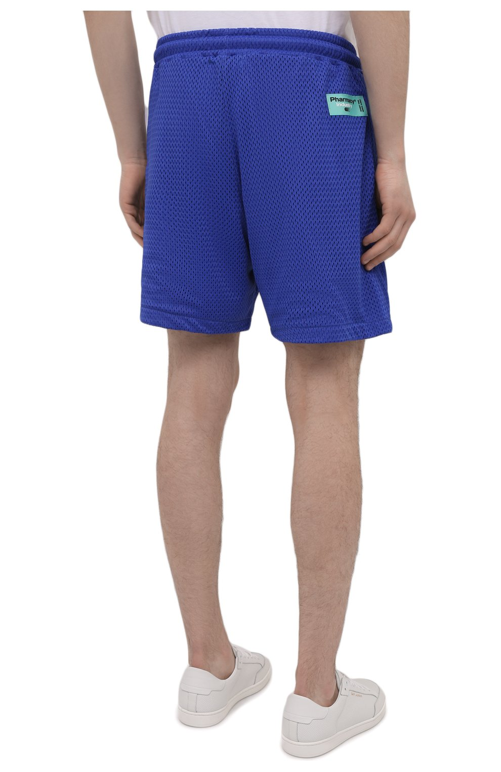 Мужские шорты PHARMACY INDUSTRY синего цвета, арт. PHM230 | Фото 4