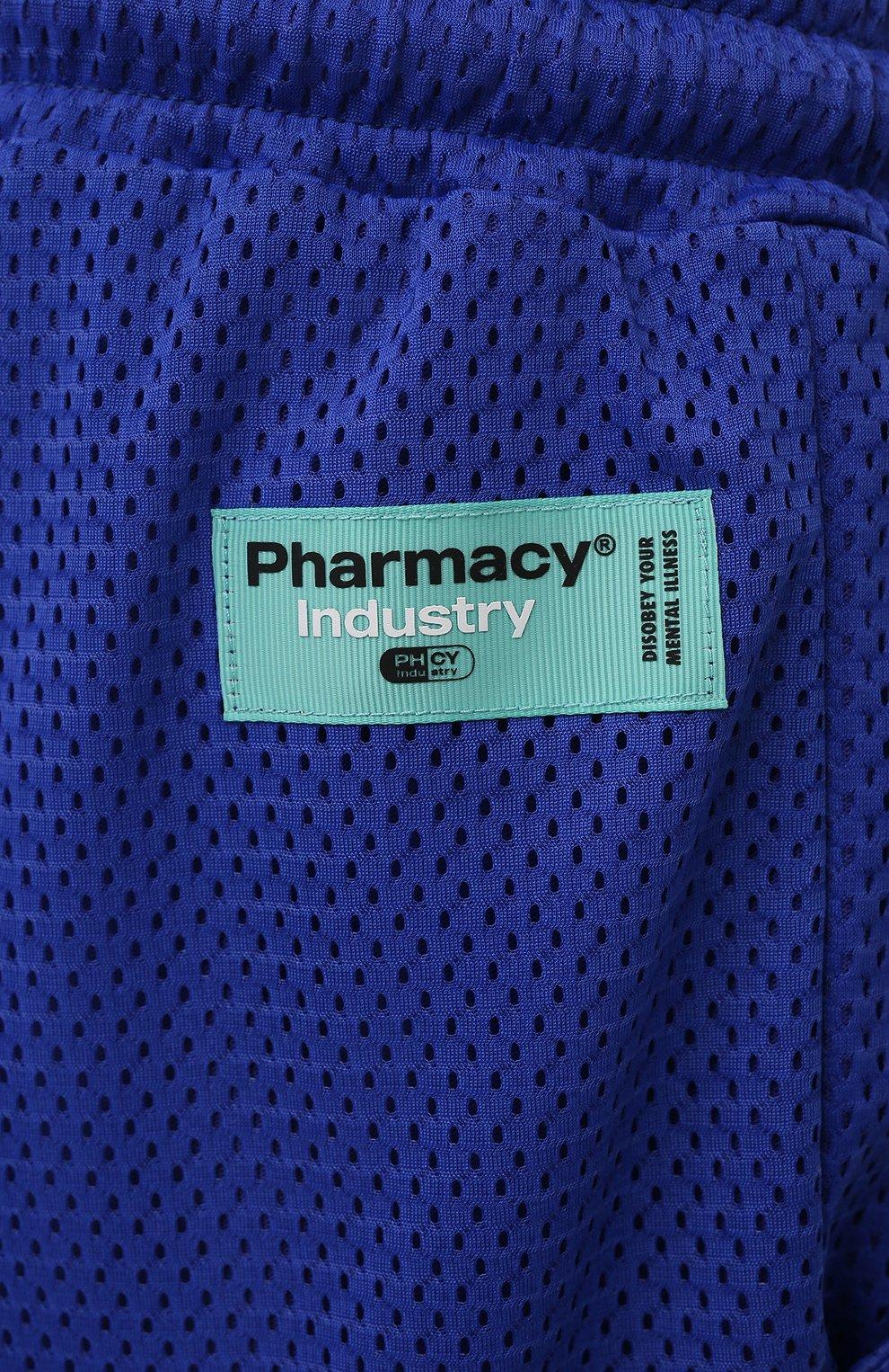 Мужские шорты PHARMACY INDUSTRY синего цвета, арт. PHM230 | Фото 5