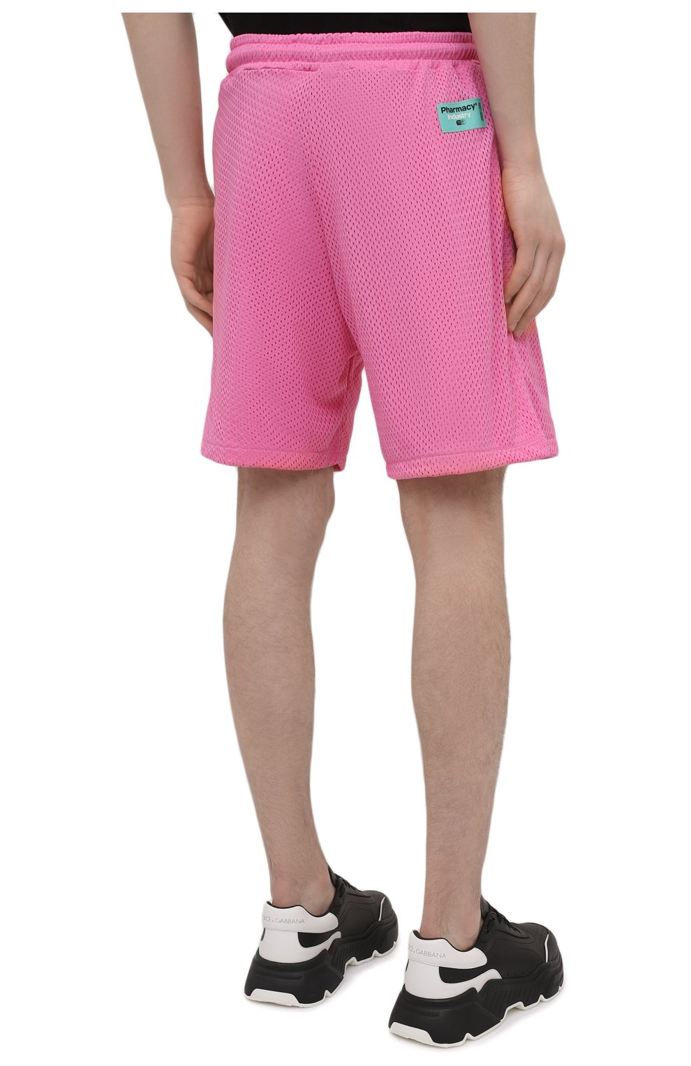 Мужские шорты PHARMACY INDUSTRY розового цвета, арт. PHM230 | Фото 4