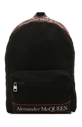 Мужской текстильный рюкзак ALEXANDER MCQUEEN черного цвета, арт. 646457/1AAAJ | Фото 1