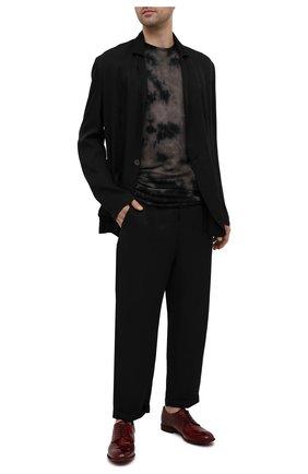 Мужские кожаные дерби LEMARGO красного цвета, арт. CZ11A/MAJESTIC | Фото 2