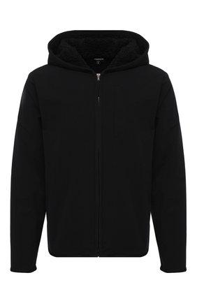Мужская утепленная куртка JAMES PERSE черного цвета, арт. MEPS2014 | Фото 1 (Рукава: Длинные; Материал подклада: Синтетический материал; Материал внешний: Синтетический материал; Длина (верхняя одежда): Короткие; Мужское Кросс-КТ: утепленные куртки; Стили: Минимализм; Кросс-КТ: Куртка)