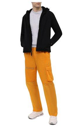 Мужская утепленная куртка JAMES PERSE черного цвета, арт. MEPS2014 | Фото 2 (Рукава: Длинные; Материал подклада: Синтетический материал; Материал внешний: Синтетический материал; Длина (верхняя одежда): Короткие; Мужское Кросс-КТ: утепленные куртки; Стили: Минимализм; Кросс-КТ: Куртка)