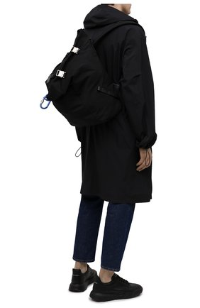 Мужской текстильный рюкзак thunder MONCLER черного цвета, арт. G1-09A-5A707-00-02SSX | Фото 2 (Материал: Текстиль)