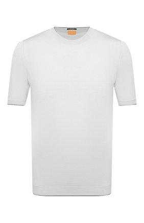 Мужской хлопковый джемпер SVEVO белого цвета, арт. 4650/3SE21/MP46 | Фото 1