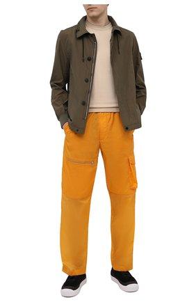 Мужской хлопковый джемпер SVEVO кремвого цвета, арт. 4650/3SE21/MP46 | Фото 2