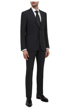 Мужской шерстяной костюм CORNELIANI темно-серого цвета, арт. 877268-1118414/92 Q1 | Фото 1