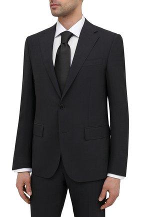 Мужской шерстяной костюм CORNELIANI темно-серого цвета, арт. 877268-1118414/92 Q1 | Фото 2