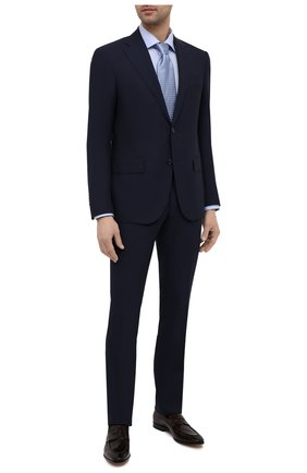 Мужской шерстяной костюм CORNELIANI темно-синего цвета, арт. 877268-1118414/92 Q1 | Фото 1