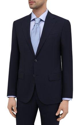 Мужской шерстяной костюм CORNELIANI темно-синего цвета, арт. 877268-1118414/92 Q1 | Фото 2