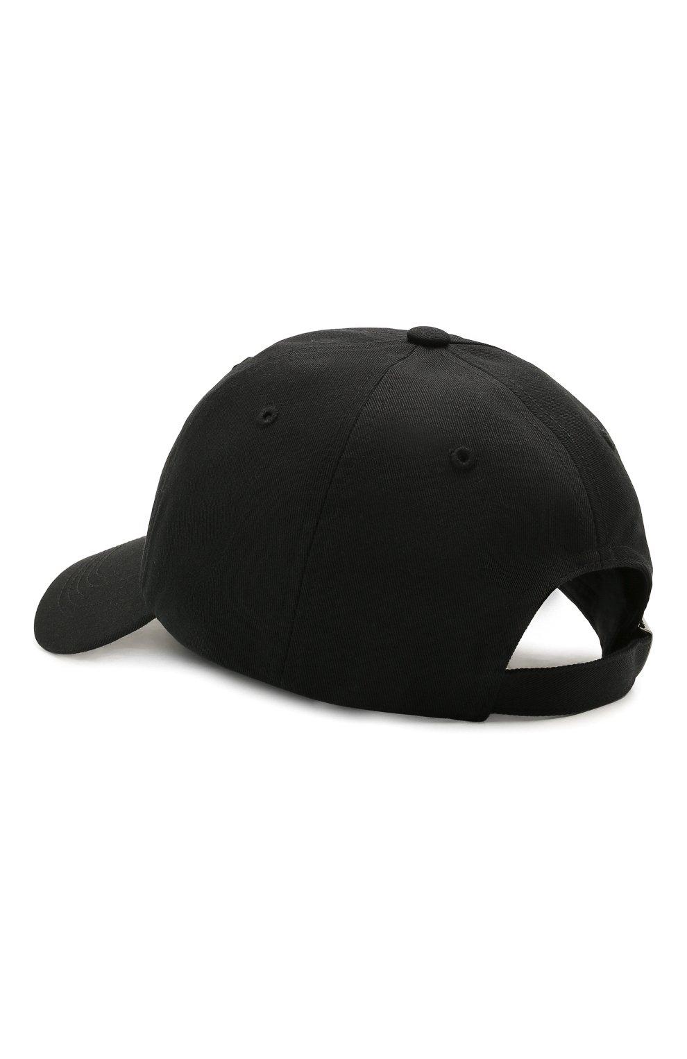 Мужской хлопковая бейсболка Y-3 черного цвета, арт. GT6379/M | Фото 2