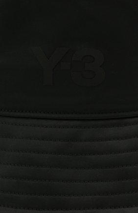 Мужская панама Y-3 черного цвета, арт. GQ3279/M | Фото 3