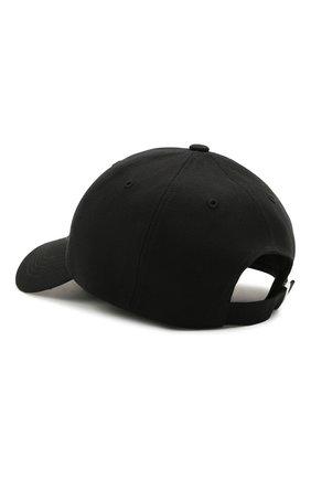 Мужской хлопковая бейсболка Y-3 черного цвета, арт. GK0626/M | Фото 2