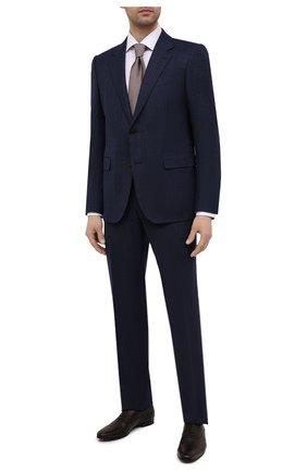 Мужские кожаные оксфорды BARRETT темно-коричневого цвета, арт. 141U002.19/CERV0 ASP0RTABILE | Фото 2
