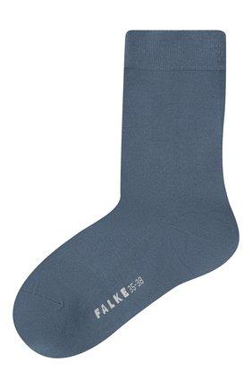 Женские носки FALKE тёмно-голубого цвета, арт. 47673 | Фото 1
