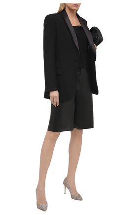 Женские текстильные туфли godiva SERGIO ROSSI разноцветного цвета, арт. A43843-MTE303 | Фото 2