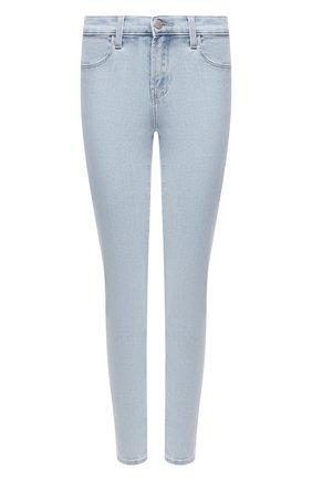Женские джинсы J BRAND светло-голубого цвета, арт. JB003091/B | Фото 1
