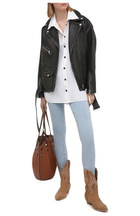Женские джинсы J BRAND светло-голубого цвета, арт. JB003091/B | Фото 2