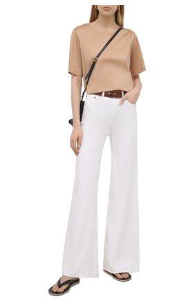 Женские джинсы ERIKA CAVALLINI белого цвета, арт. S1/P/P1SW02 | Фото 2