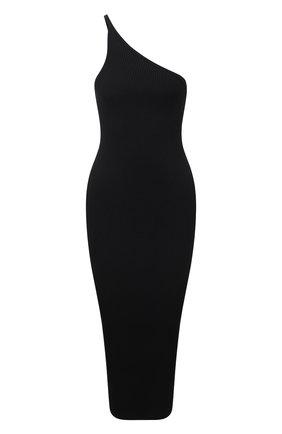 Женское платье из вискозы ERIKA CAVALLINI черного цвета, арт. S1/P/P1SB06 | Фото 1