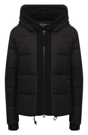 Женская стеганая куртка JAMES PERSE черного цвета, арт. WTCP2411 | Фото 1
