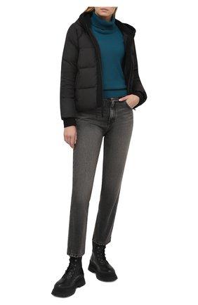 Женская стеганая куртка JAMES PERSE черного цвета, арт. WTCP2411 | Фото 2