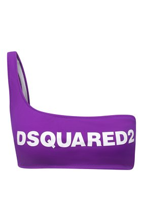 Женский бра-топ DSQUARED2 фиолетового цвета, арт. D6BYA2850 | Фото 1
