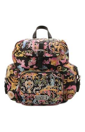 Женский рюкзак VERSACE JEANS COUTURE разноцветного цвета, арт. E1VWABX3-LINEA X DIS. 3/71887 | Фото 1