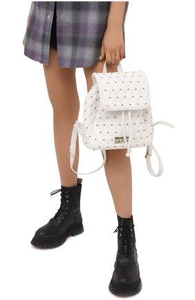 Женский рюкзак VERSACE JEANS COUTURE белого цвета, арт. E1VWABQ7-LINEA Q DIS. 7/71881 | Фото 2