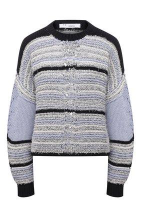 Женский хлопковый свитер IRO голубого цвета, арт. WM12PEGGIE | Фото 1