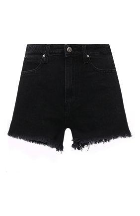 Женские джинсовые шорты IRO черного цвета, арт. WM300LNAY | Фото 1
