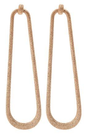Женские серьги BRUNELLO CUCINELLI золотого цвета, арт. M0RW9LA25 | Фото 1