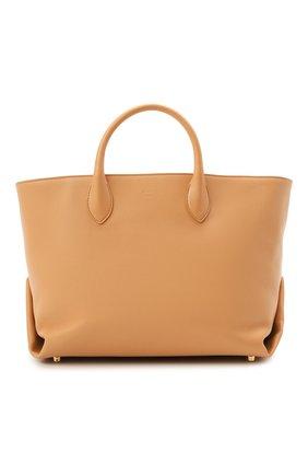 Женский сумка-тоут amelia large KHAITE бежевого цвета, арт. H1003-712/AMELIA | Фото 1
