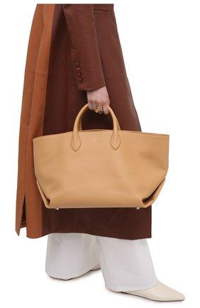 Женский сумка-тоут amelia large KHAITE бежевого цвета, арт. H1003-712/AMELIA | Фото 2