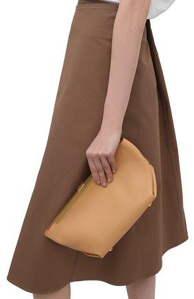 Женский клатч aimee KHAITE бежевого цвета, арт. H4000-712/AIMEE | Фото 2