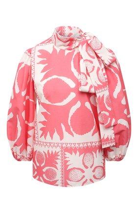 Женская блузка REDVALENTINO розового цвета, арт. VR0AAC55/5SA | Фото 1