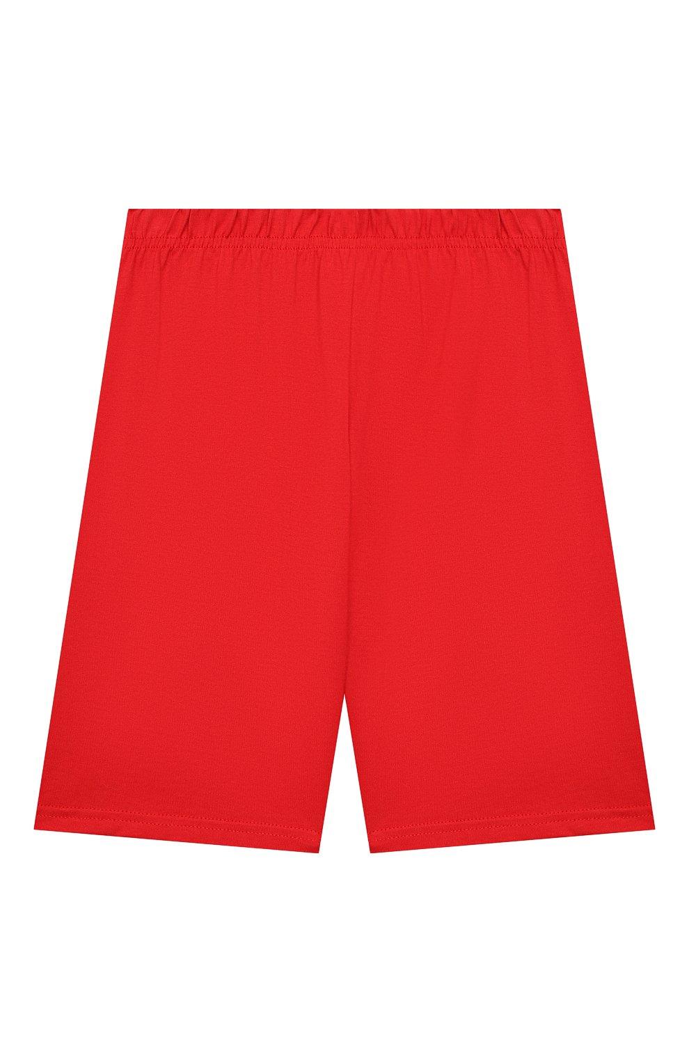 Женская хлопковая пижама LA PERLA красного цвета, арт. 70072/8A-14A | Фото 5