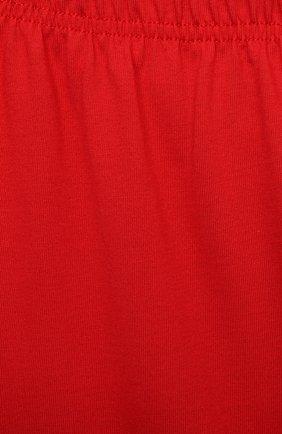 Женская хлопковая пижама LA PERLA красного цвета, арт. 70072/8A-14A | Фото 7