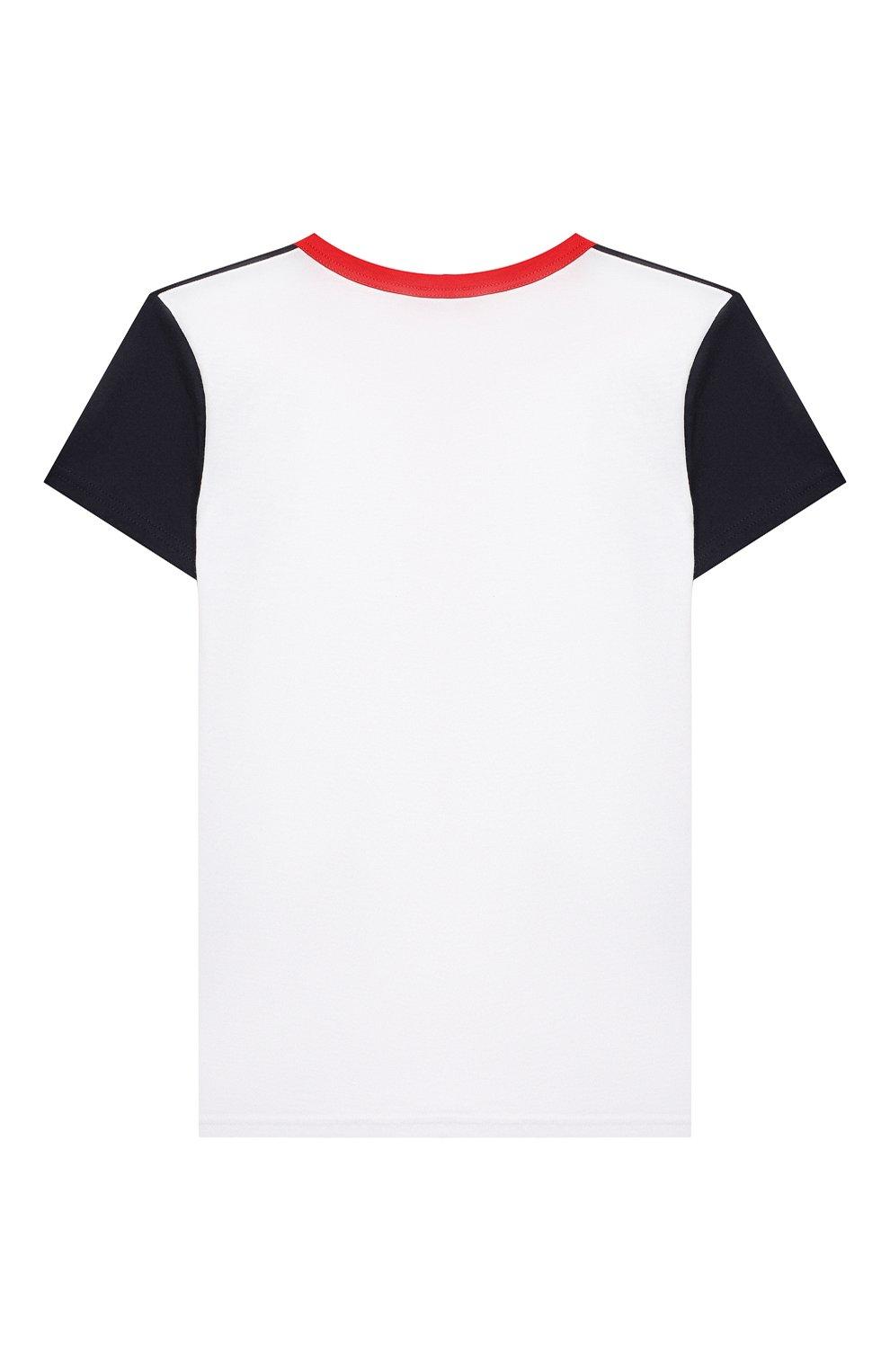 Женская хлопковая пижама LA PERLA красного цвета, арт. 70072/2A-6A | Фото 3