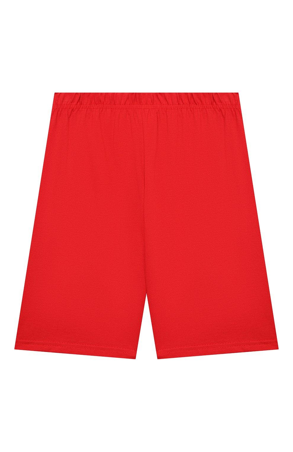 Женская хлопковая пижама LA PERLA красного цвета, арт. 70072/2A-6A | Фото 4